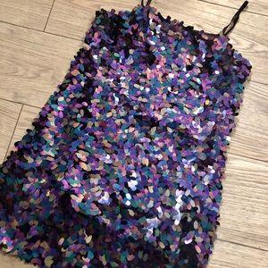 NWOT Sequin mini dress